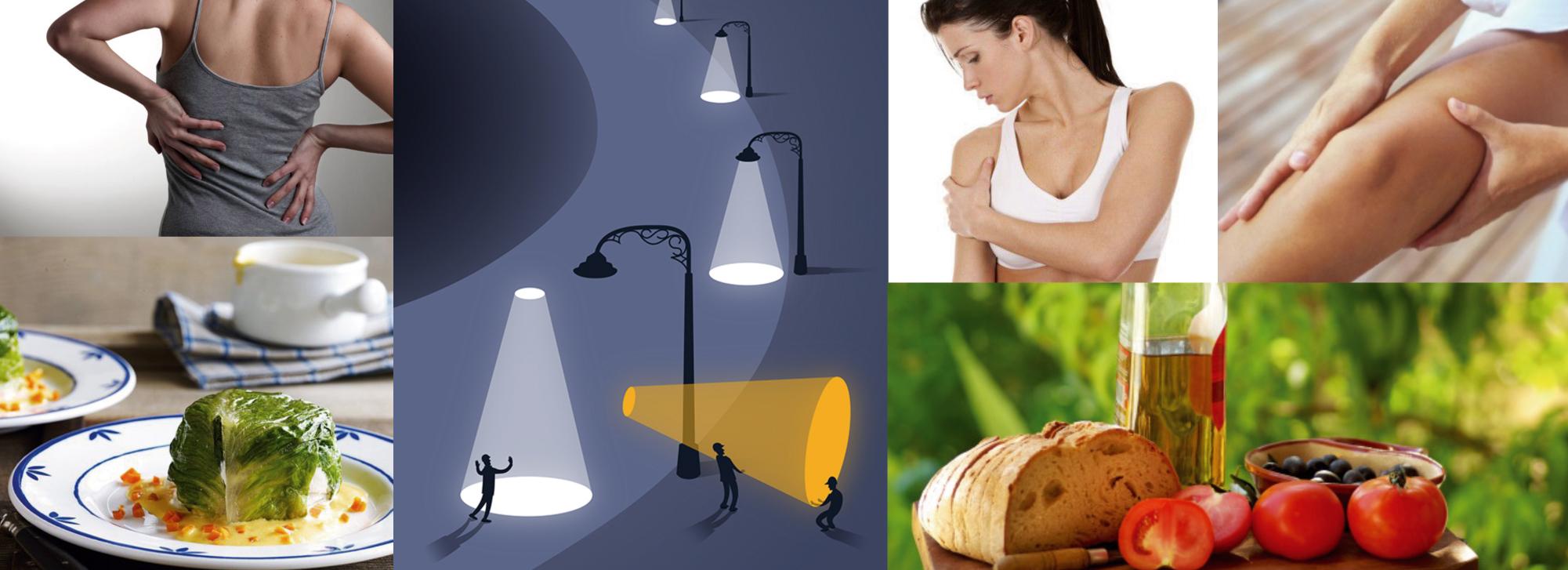 curare sofferenze muscolari e articolari